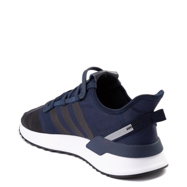 alternate view Mens adidas U_Path Run Athletic Shoe - Collegiate Navy / BlackALT2