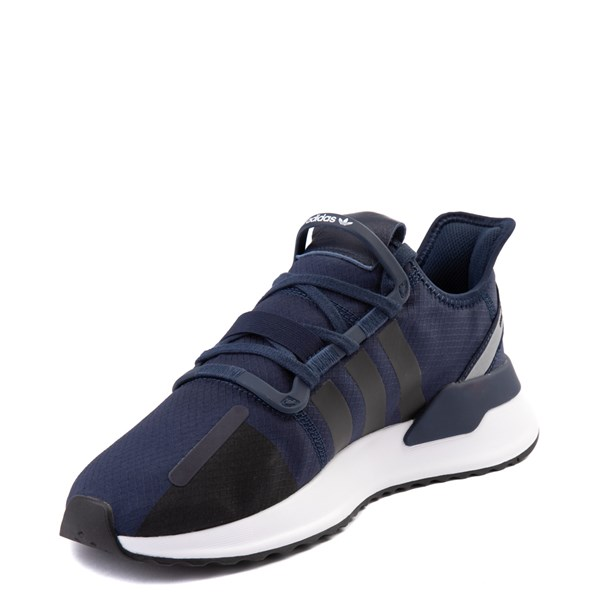 alternate view Mens adidas U_Path Run Athletic Shoe - Collegiate Navy / BlackALT3