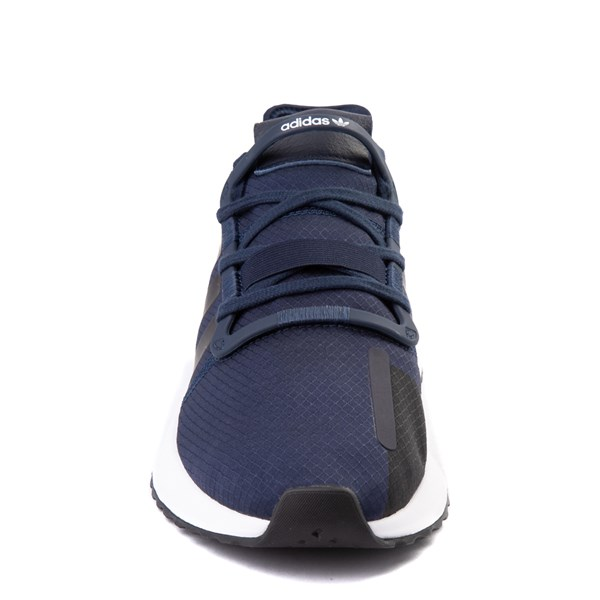 alternate view Mens adidas U_Path Run Athletic Shoe - Collegiate Navy / BlackALT4