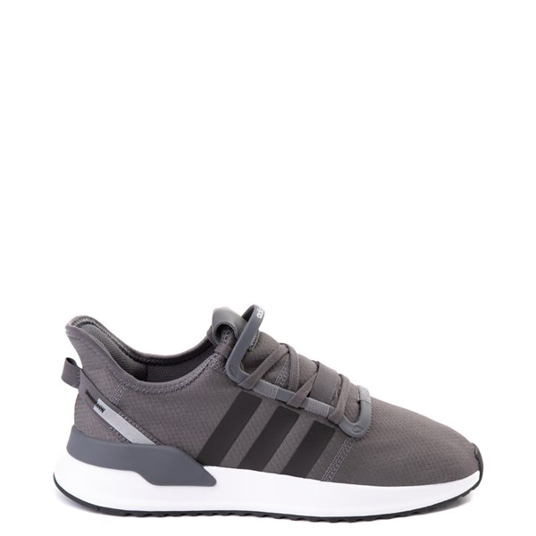 Mens adidas U_Path Run Athletic Shoe - Gray / Black