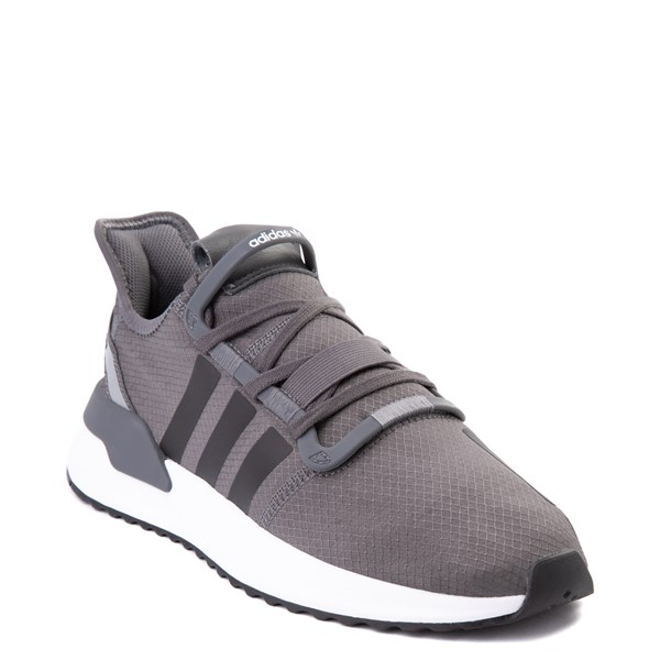 alternate view Mens adidas U_Path Run Athletic Shoe - Gray / BlackALT1