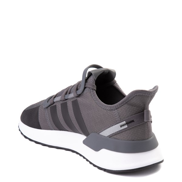 alternate view Mens adidas U_Path Run Athletic Shoe - Gray / BlackALT2