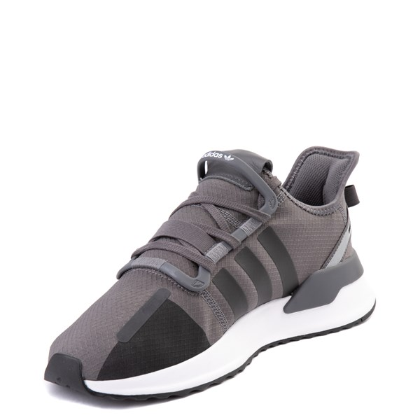 alternate view Mens adidas U_Path Run Athletic Shoe - Gray / BlackALT3