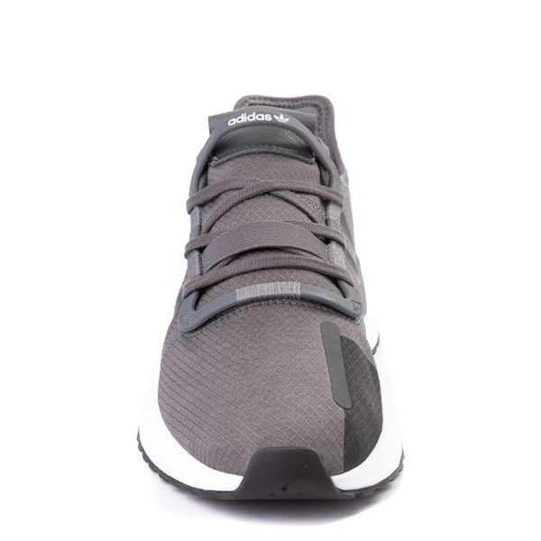 alternate view Mens adidas U_Path Run Athletic Shoe - Gray / BlackALT4