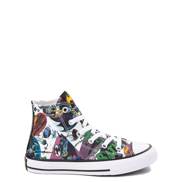 Default view of Converse Chuck Taylor All Star Hi DC Comics Batman Sneaker - Little Kid