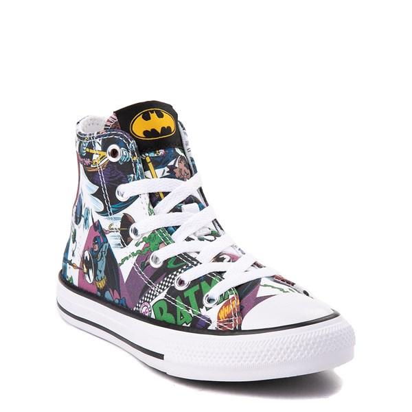 alternate view Converse Chuck Taylor All Star Hi DC Comics Batman Sneaker - Little KidALT1A