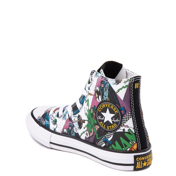 alternate view Converse Chuck Taylor All Star Hi DC Comics Batman Sneaker - Little KidALT2