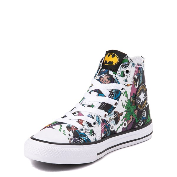 alternate view Converse Chuck Taylor All Star Hi DC Comics Batman Sneaker - Little KidALT3