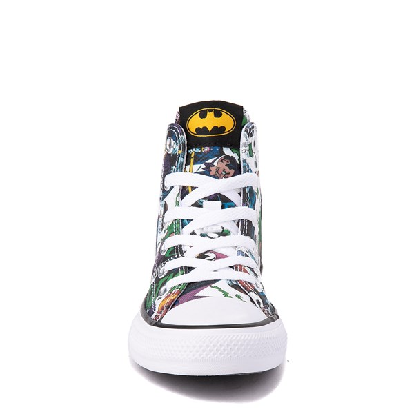 alternate view Converse Chuck Taylor All Star Hi DC Comics Batman Sneaker - Little KidALT4