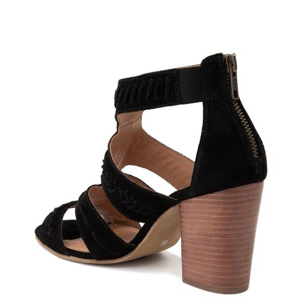 alternate view Womens Crevo Portia Heel - BlackALT2