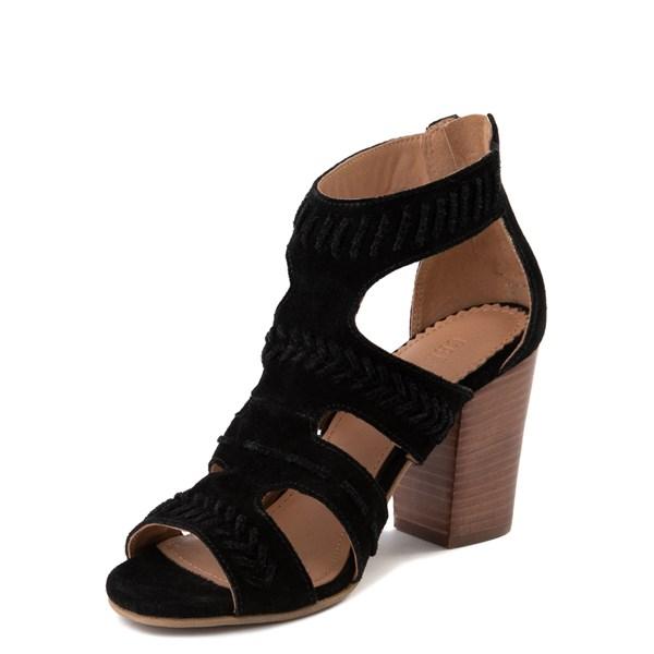 alternate view Womens Crevo Portia Heel - BlackALT3