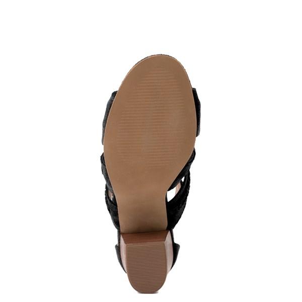 alternate view Womens Crevo Portia Heel - BlackALT5