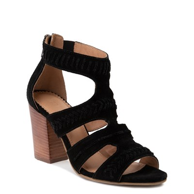 Alternate view of Womens Crevo Portia Heel - Black