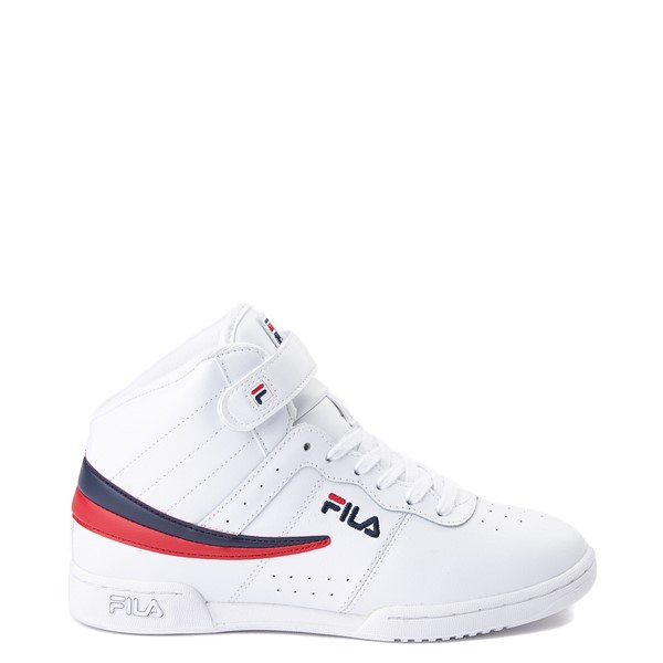 Womens Fila F-13 Athletic Shoe - White / Navy / Red