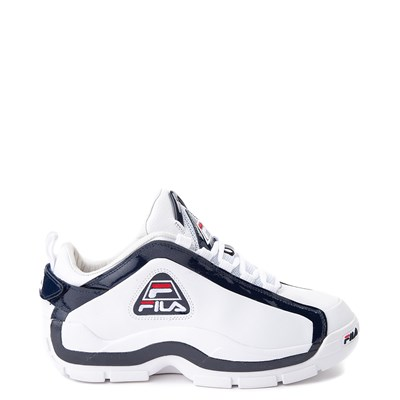 Main view of Mens Fila 96 Low Athletic Shoe - White / Navy