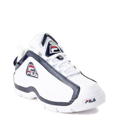 Alternate view of Mens Fila 96 Low Athletic Shoe - White / Navy