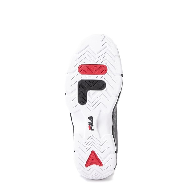 alternate view Mens Fila 96 Low Athletic Shoe - Black / WhiteALT3