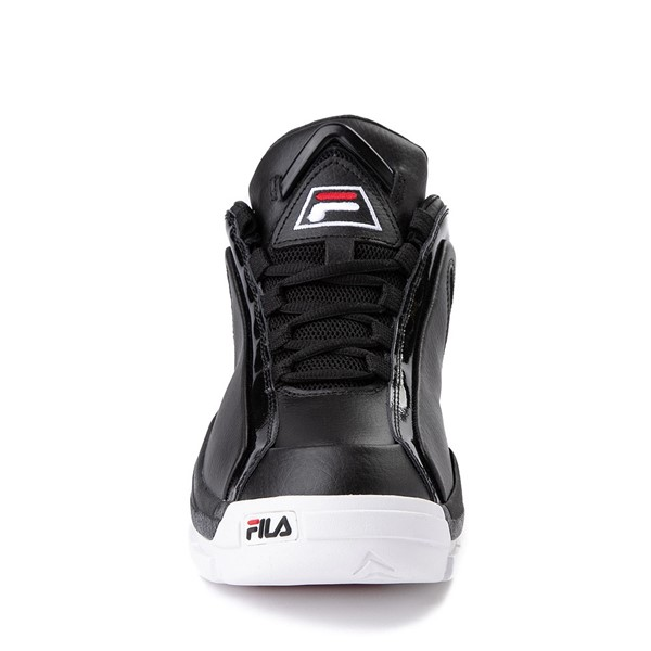 alternate view Mens Fila 96 Low Athletic Shoe - Black / WhiteALT4