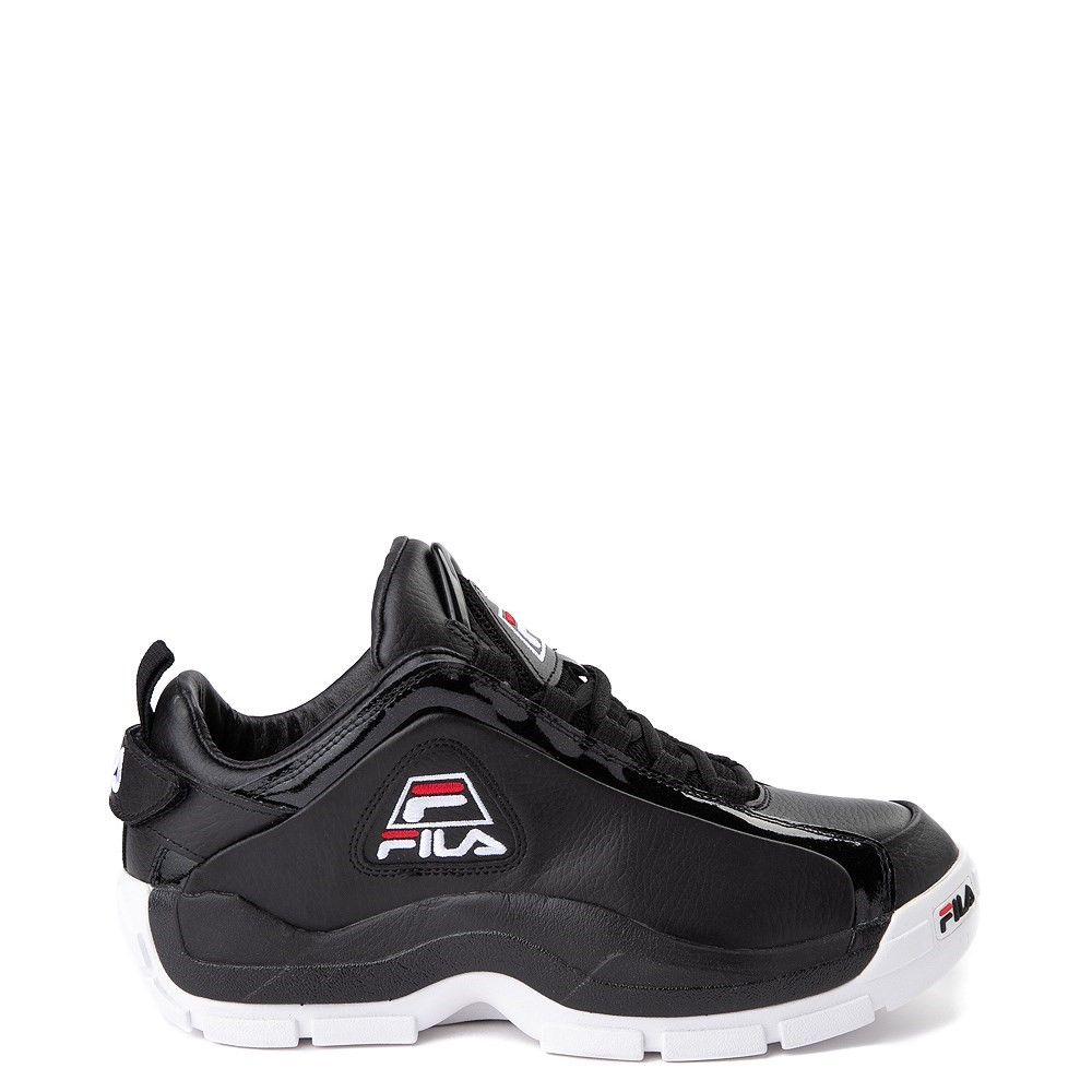 Mens Fila 96 Low Athletic Shoe - Black / White