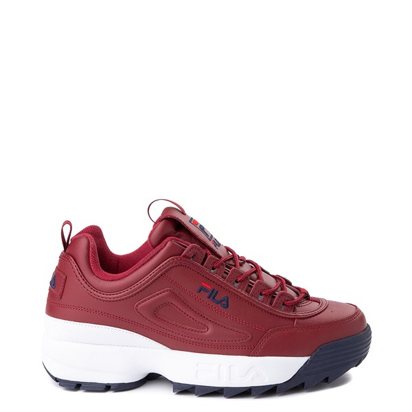 Mens Fila Disruptor 2 Athletic Shoe - Burgundy