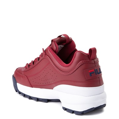 Alternate view of Mens Fila Disruptor 2 Athletic Shoe - Burgundy