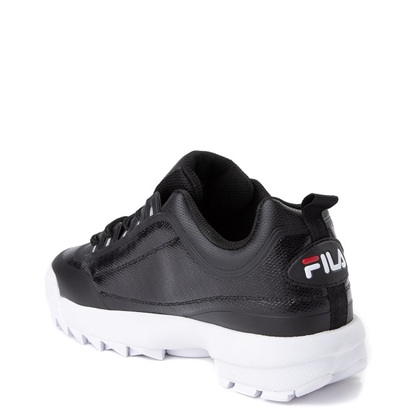 alternate view Mens Fila Disruptor 2 Athletic Shoe - Black / Red / WhiteALT1