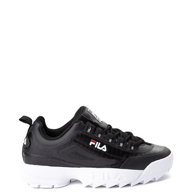 Main view of Mens Fila Disruptor 2 Athletic Shoe - Black / Red / White