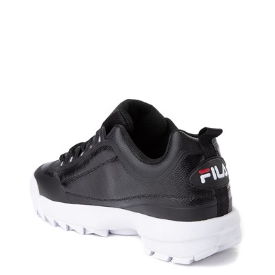 Alternate view of Mens Fila Disruptor 2 Athletic Shoe - Black / Red / White