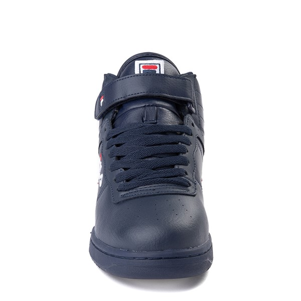 alternate view Mens Fila F-13 Athletic Shoe - Navy / White / RedALT4