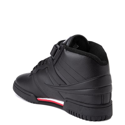 Alternate view of Mens Fila F-13 Athletic Shoe - Black / White / Red