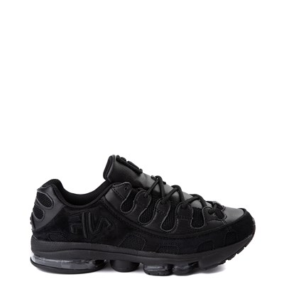 Main view of Mens Fila Silva Trainer Athletic Shoe - Black