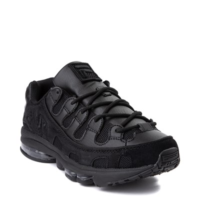 Alternate view of Mens Fila Silva Trainer Athletic Shoe - Black