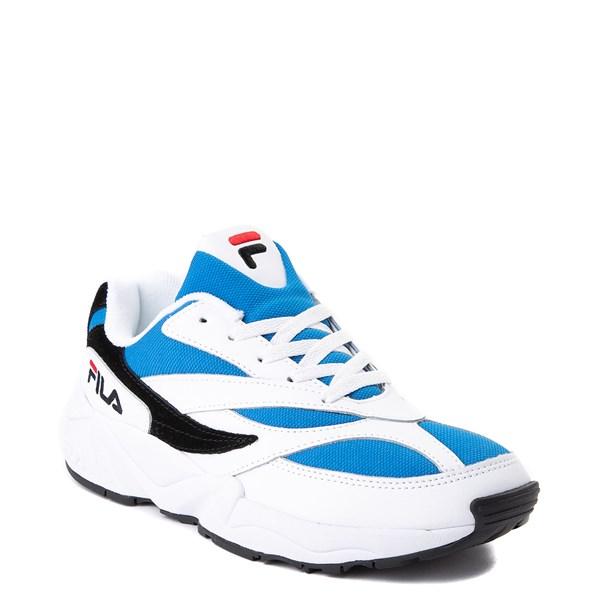 alternate view Mens Fila V94M Athletic Shoe - White / Blue / BlackALT1