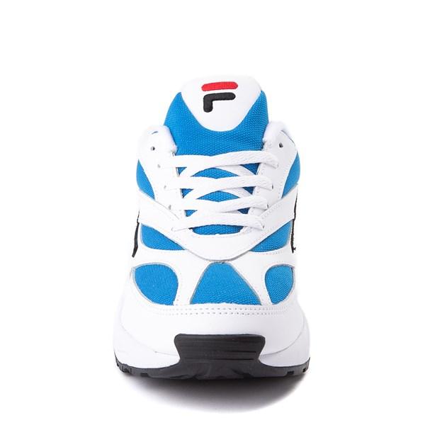 alternate view Mens Fila V94M Athletic Shoe - White / Blue / BlackALT4