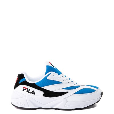 Main view of Mens Fila V94M Athletic Shoe - White / Blue / Black