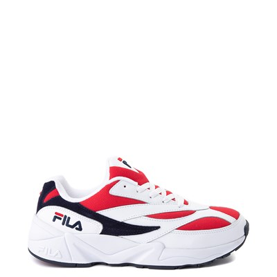 Main view of Mens Fila V94M Athletic Shoe - White / Red / Black