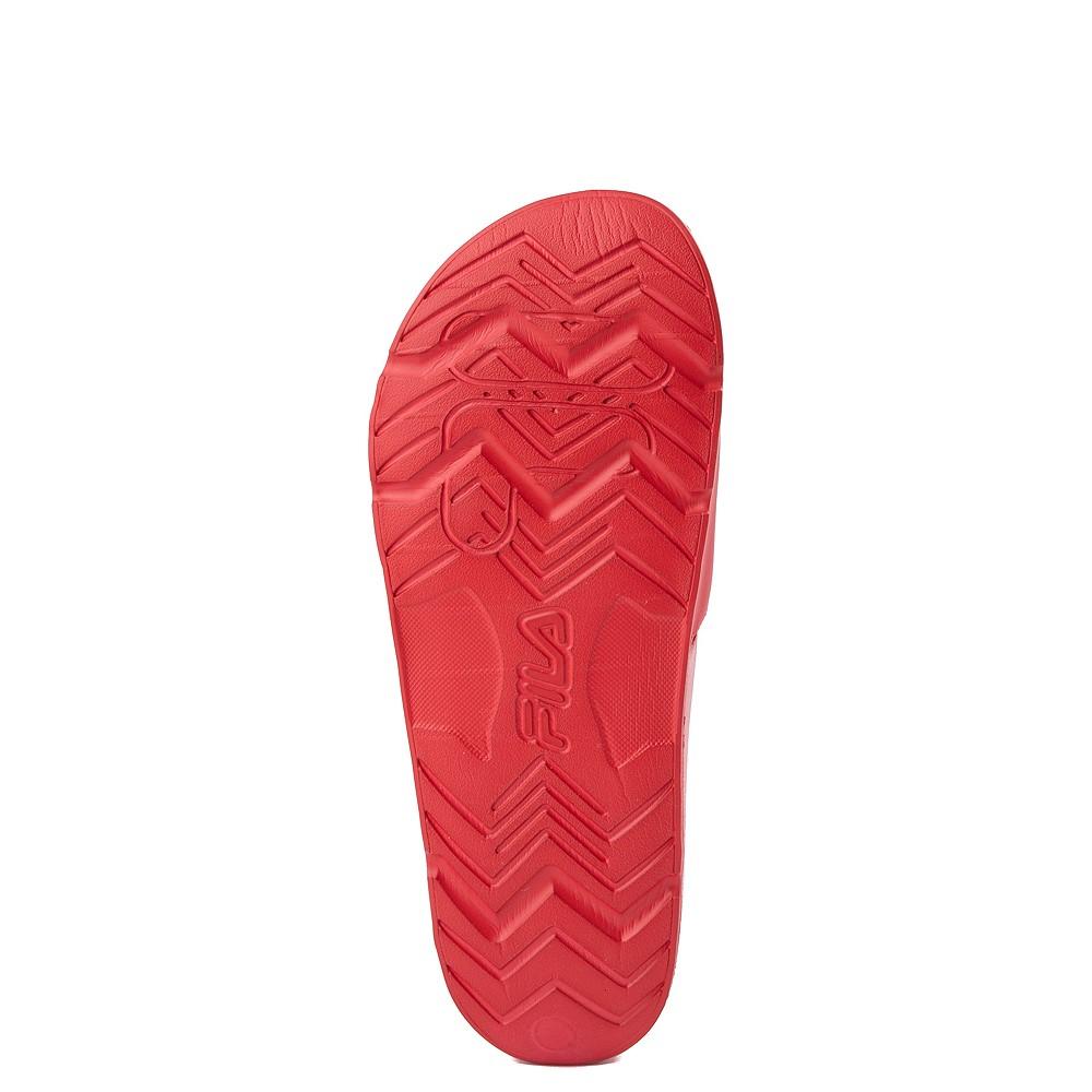 Mens Fila Drifter Slide Sandal Red White Navy