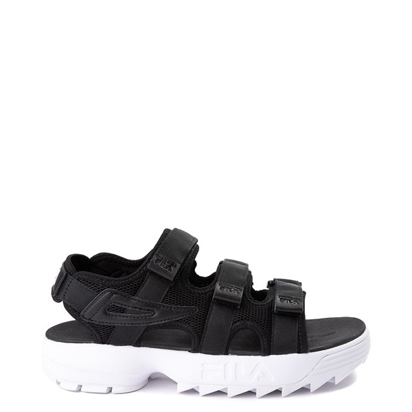 Mens Fila Disruptor Sandal - Black