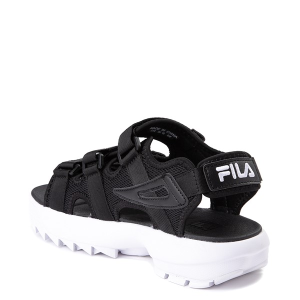 alternate view Mens Fila Disruptor Sandal - BlackALT1