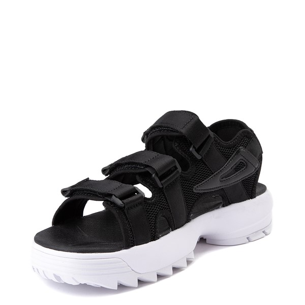 alternate view Mens Fila Disruptor Sandal - BlackALT2