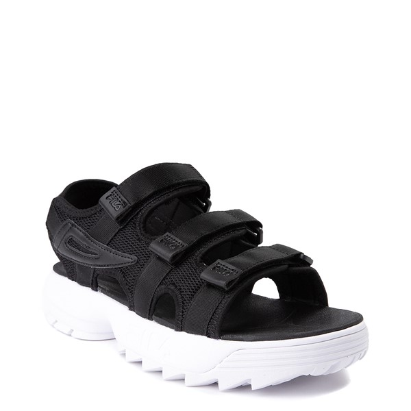 alternate view Mens Fila Disruptor Sandal - BlackALT5
