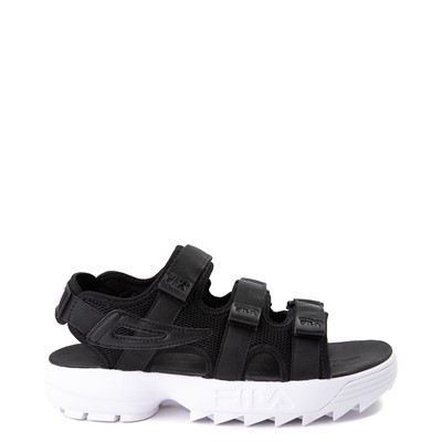 Main view of Mens Fila Disruptor Sandal - Black