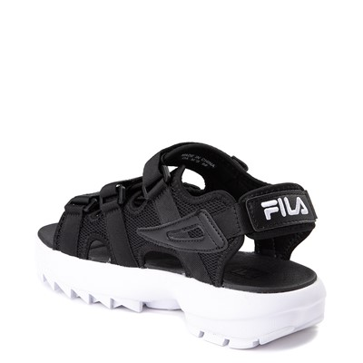 Alternate view of Mens Fila Disruptor Sandal - Black