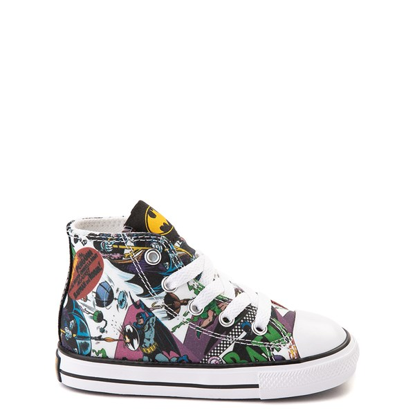Default view of Converse Chuck Taylor All Star Hi DC Comics Batman Sneaker - Baby / Toddler