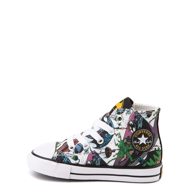 alternate view Converse Chuck Taylor All Star Hi DC Comics Batman Sneaker - Baby / ToddlerALT1