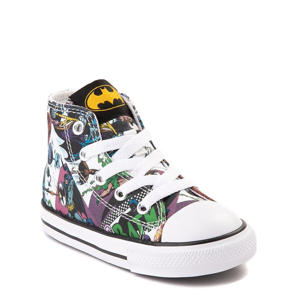 alternate view Converse Chuck Taylor All Star Hi DC Comics Batman Sneaker - Baby / ToddlerALT1B