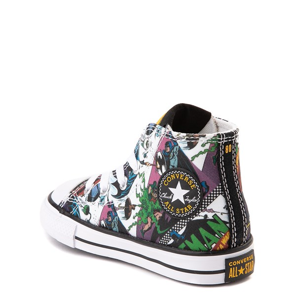 alternate view Converse Chuck Taylor All Star Hi DC Comics Batman Sneaker - Baby / ToddlerALT2