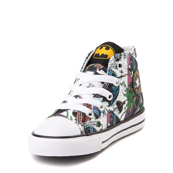 alternate view Converse Chuck Taylor All Star Hi DC Comics Batman Sneaker - Baby / ToddlerALT3