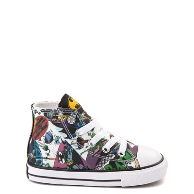 Main view of Converse Chuck Taylor All Star Hi DC Comics Batman Sneaker - Baby / Toddler