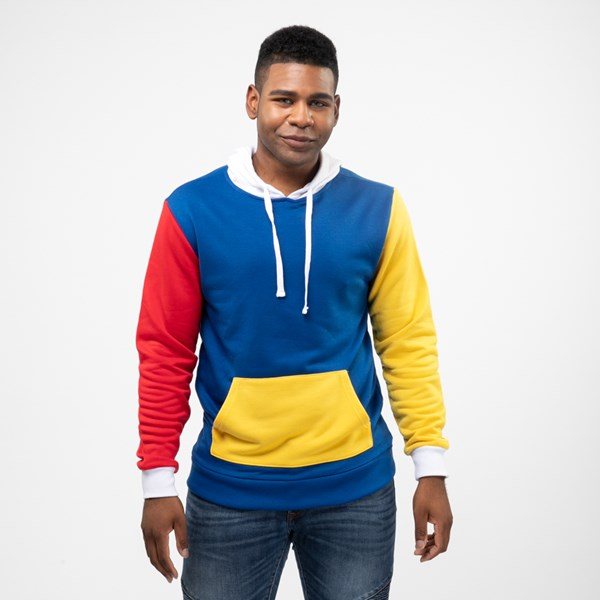 Mens Color-Block Hoodie